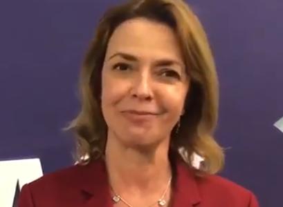 Gabriela Burian, da Monsanto, parabeniza CEBDS por sua atuação na COP23